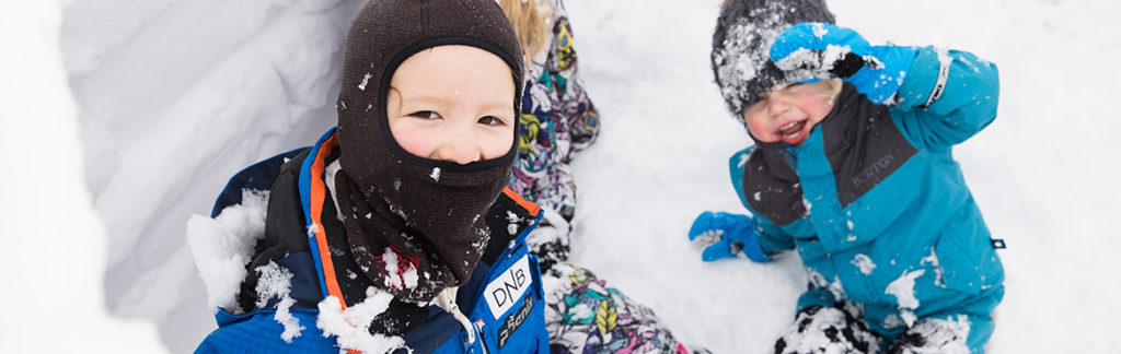 Six Ways You Can Keep Kids Warm In The Snow